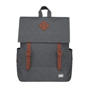 Schicker Tagesrucksack-Cityrucksack U1 mit Laptop-Fach in edlem grau von blnbag