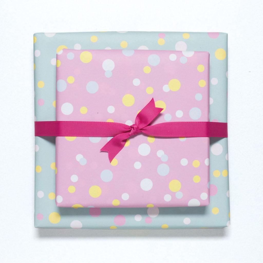 Geschenkpapier-Set -Confetti-, von My Pretty Circus