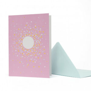 Karte + Umschlag Geschenkpapier-Set -Confetti-, von My Pretty Circus