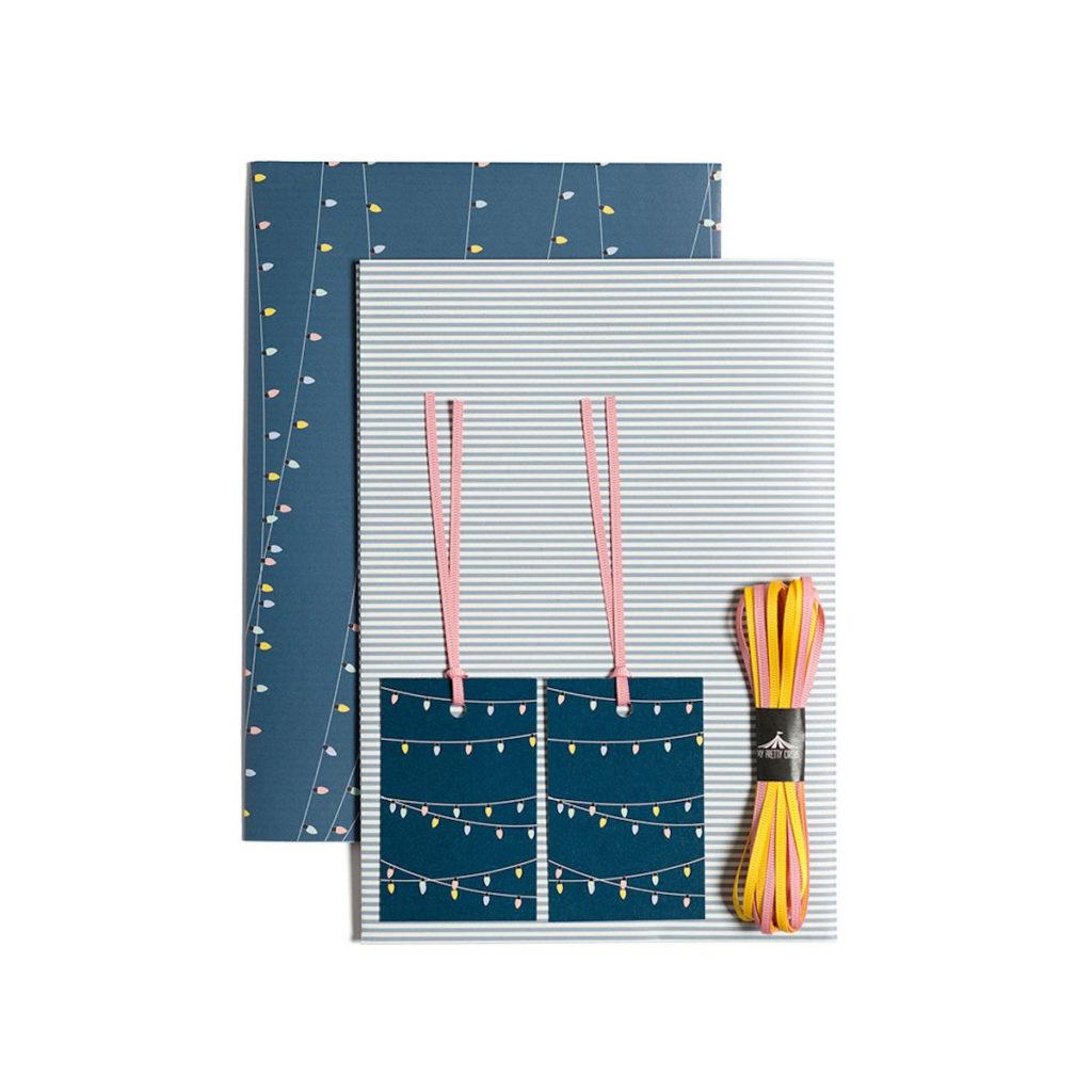 Geschenkpapier Lichterkette von My Pretty Circus