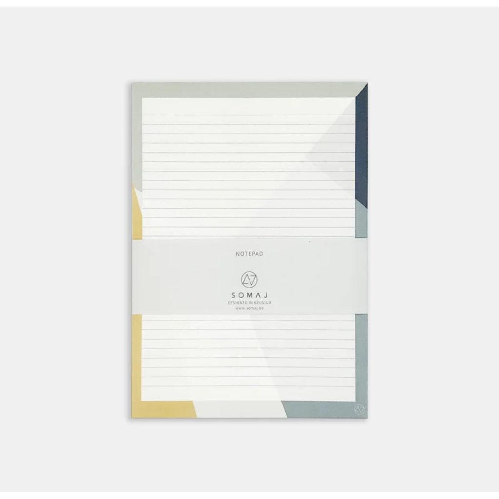 Notizblock A5, liniert mit Grafik-Design von Somaj