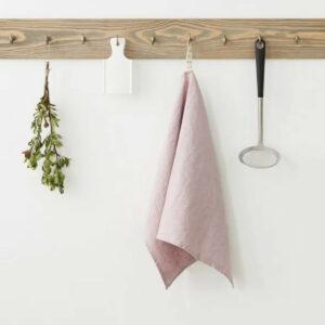 Küchentuch aus Leinen, pink-lavender von LINEN TALES